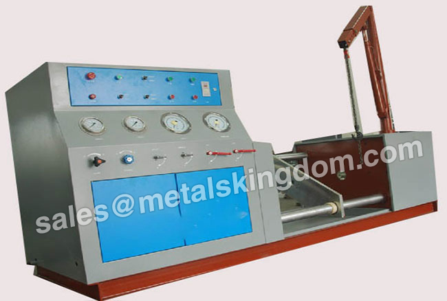 Horizontal Type SYTW400/3.5-32 Valve Pressure Test Bench