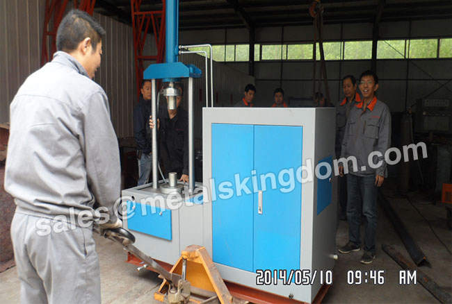 Top Pressure SYTL150/7.5-32 Type Vertical  Valve Test Bench