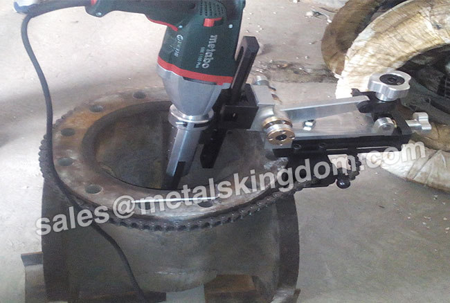 MZ150 Portable Gate Valve Grinding Machine