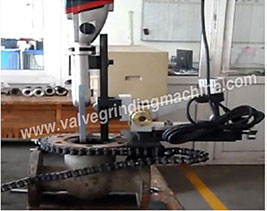 MZ-150 M-600 Portable Valve Grinding Machine exporting