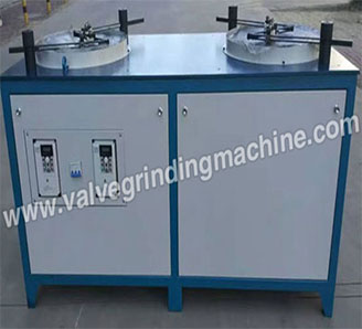 Double Operating Position Valve Core Grinding Bench