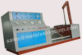 Use the Valve Test Stand to Test the Valve for Pressure and Leakage