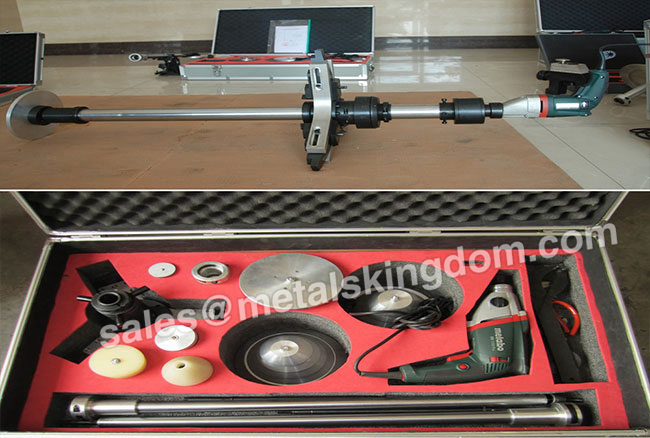 MJ-250 Portable Globe Valve Grinding Machine