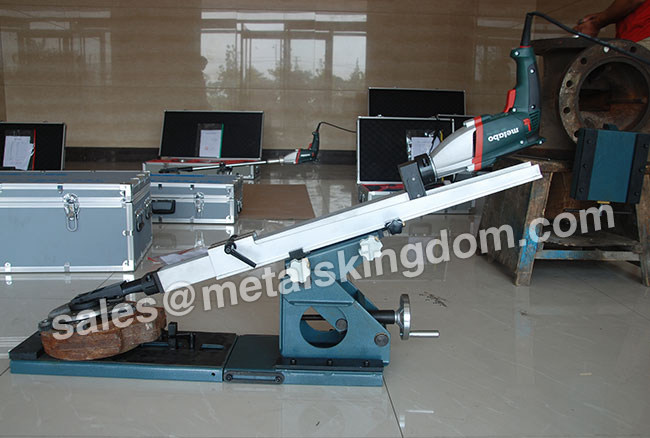 M-300 DN80-300mm Portable Gate Valve Grinding Machine
