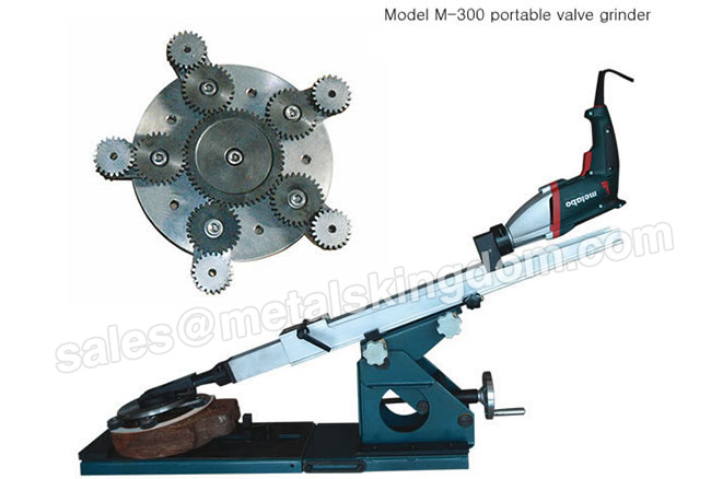 M-300 DN80-300mm Portable Gate Valve Grinding Machine