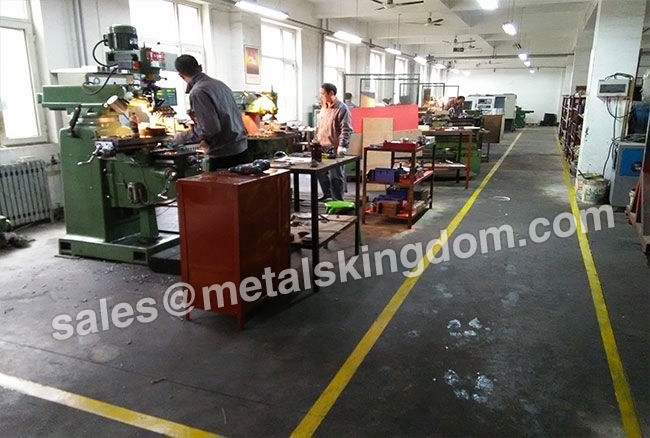 Workshop of Portable Valve Grinding Machine