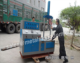 Shipment for Valve Pressure Test Bench