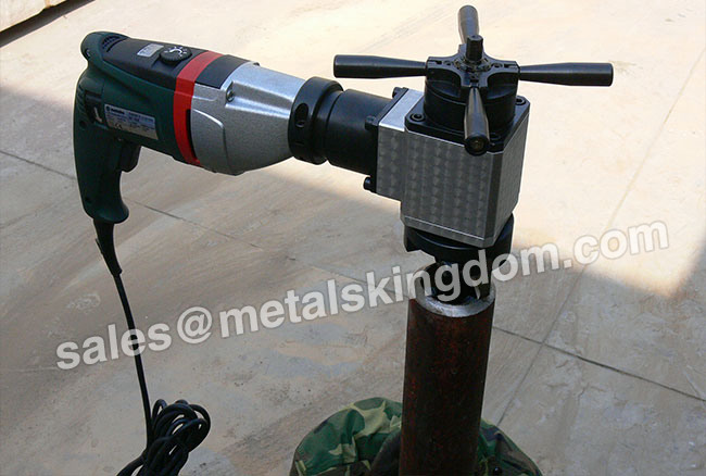 PKN-76 Portable Inner Expand Type  Metal Pipe Beveling Machine