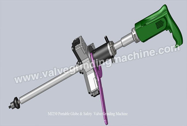 DN20-400mm Portable Globe&Safety Valve Grinding Machine