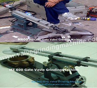 The difference M&MZ series Portable Valve Grinding Machine