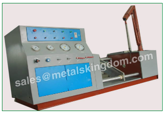 Test The Valve With A Pressure Test Using A Valve Test Stand