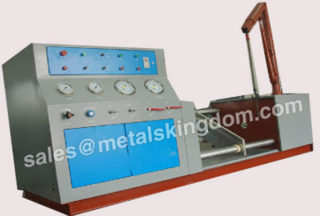 Test Requirements for Valve Testing Machine